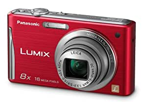 Panasonic DMC-FH25R 16.1MP Digital Camera with 8x Wide Angle Image Stabilized Zoom and 2.7 inch LCD (Red) (OLD MODEL)
