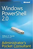 Image of Windows PowerShell 2.0 Administrator's Pocket Consultant (Administrator's Pocket Consultant)
