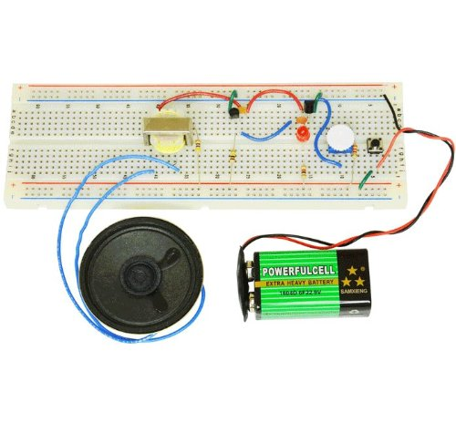 Basic Electronic Experiments With Bredboard