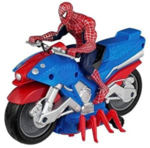 Spiderman bike toy - photo#25