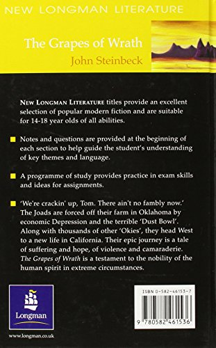 The Grapes of Wrath (Longman Literature Steinbeck)