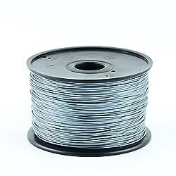 3D Printer Filament PLA (Silver, 1.75mm)