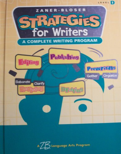 Strategies for Writers: Level D - Grade 4