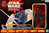 Star Wars - Episode 1 - Sith Speeder and Darth Maul - Made by Hasbro