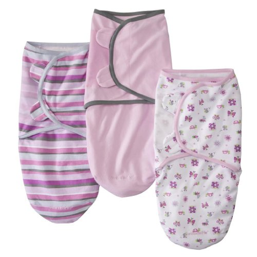 Image of Summer Infant 3 Pack Cotton Knit Swaddleme