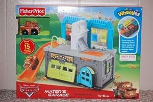 Disney Pixar Cars Wheelies Playset - Mater's Garage by Fisher Price