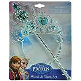 Disney Frozen Princess Anna & Elsa Magic Wand & Tiara Combo Set + Lcd Watch