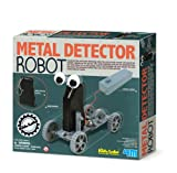 Kidz Labs - Metal Detector Robot Ages 8+ Girls Green Creative Crafts Eco Lear...