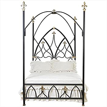 Corsican 42908 Gothic Nights Canopy Bed King