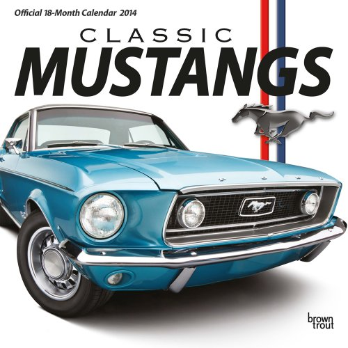 Classic Mustangs 2014 Square 12x12