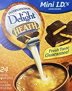 International Delight Heath Flavor 24-count Non-dairy Creamer Singles (2 Pack)