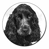 Blue Roan Cocker Spaniels Fridge Magnet Stocking Filler, Ref:AD-SC25FM