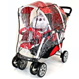 New Chicco Together Twin Stroller Tandem Raincover