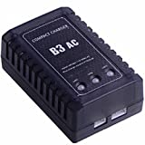XT-XINTE B3 AC LiPo 3S Battery Balance Charger Compact Charger Built-in adapter for RC Helicopters