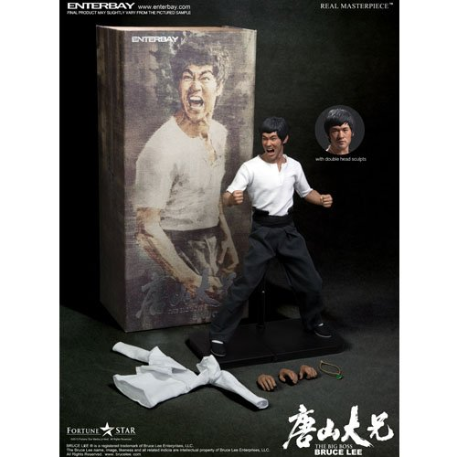 Real Masterpiece The Big Boss Bruce Lee 1:6 Scale Action Figure