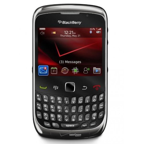 NEW GRAY BLACKBERRY CURVE 3G 9330 SMARTPHONE WITH 2 MEGAPIXEL CAMERA GPS Wi-Fi FOR CDMA VERIZON **NO SIM CARD SLOT**