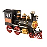 Antique Style Railroad Train Steam Engine Christmas Ornament