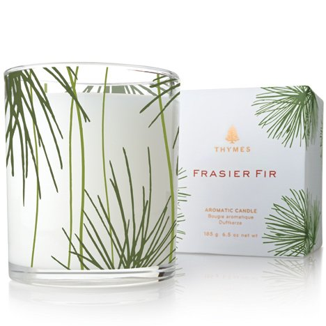 Favorite Candles: Thymes Poured Candle (Frasier Fir)