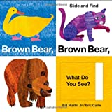 img - for Brown Bear, Brown Bear, What Do You See? Slide and Find (World of Eric Carle (Priddy Books)) book / textbook / text book