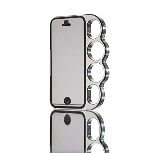 Amazon.co.jp: Knucklecase for iPhone5 Silverナックルケース (SoftBank ソフトバンク au)両対応 ケース【正規輸入品】: 家電・カメラ