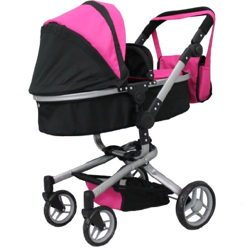 Mommy & Me 2 In 1 Deluxe Doll Stroller Extra Tall 32