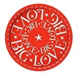 Emma Bridgewater Big Love Deepwell Tray, Red