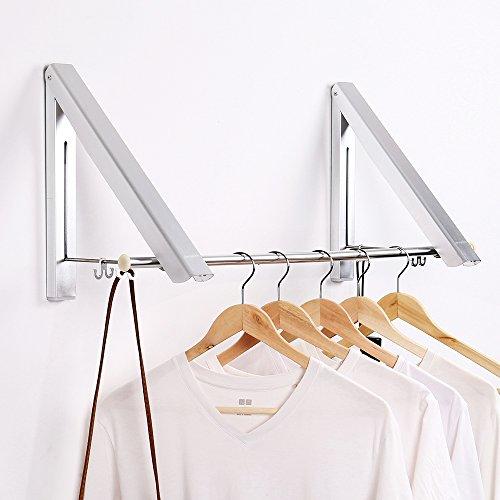 Kleiderständer Holz Klappbar ~ Jerrybox Klappbarer Kleiderhaken Garderobenhaken Wand Kleiderständer