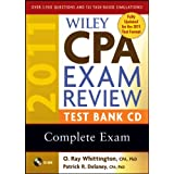 Wiley CPA Exam Review 2011 Test Bank CD , Complete Exam ~ O. Ray Whittington