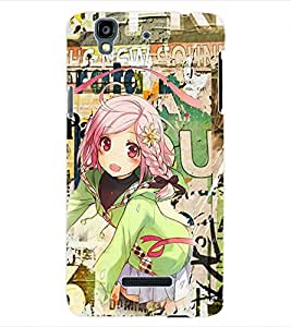 ColourCraft Graffiti Back Case Cover for YU YUREKA AO5510