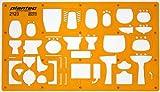 120 échelle Trace Gabarit Darchitecte Symboles de Plan détage Installation Sanitaire Disposition des Meubles Mobilier Décoration dintérieurs Dessin Technique Traçage Illustration Architecture Maisons
