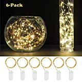 6-PCS-Fairy-String-Lights-Battery-Operated-72ft22M-20-Leds-LED-Moon-Lights-YIHONG-Starry-String-Lights-Copper-Wire-For-Wedding-Centerpiece-Dinner-Party-Decoration-Fairy-Dress-Costume-Making
