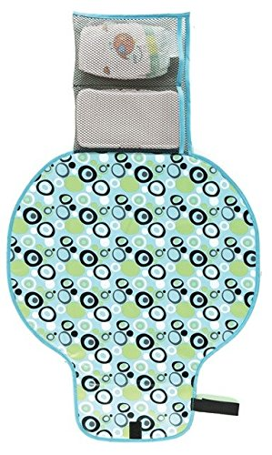 On-The-Go Changing Pad - Blue front-900542