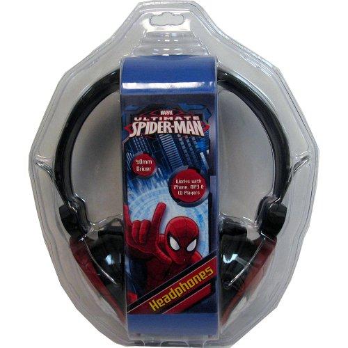 Spiderman 33744-Tru Headphones With Molded Head