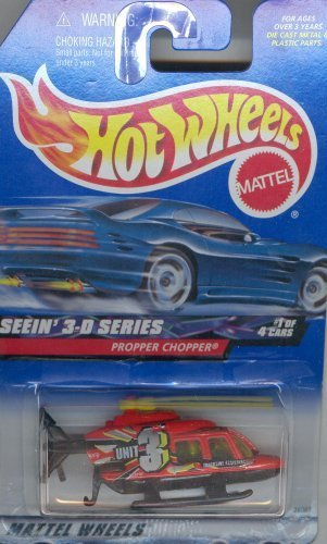 mattel-hot-wheels-seein-3-d-series-propper-chopper-redunit-3-164-scale-die-cast-car-1-of-4-009-by-ho