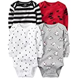 Carter's Baby Boys Multi-Pk Bodysuits 126g459, Assorted, NB