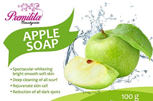 apple-soap-by-premilita-beautycare-natural-soap-for-facial-and-body-cleansing-100-g-1-bar