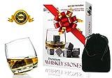 Premium Whiskey Stones - Scotch Rocks - Best Christmas Gift...