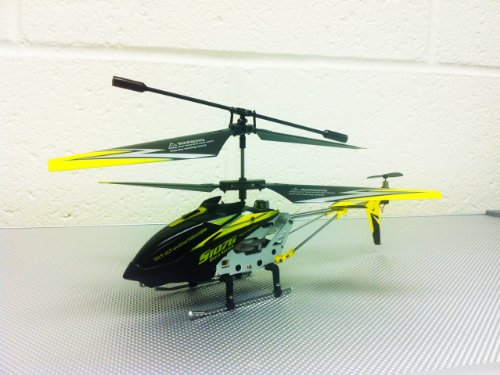 51vKslvcjqL Cheap  Genuine 2012 Rare BLACK COLOR Syma S107G 3CH Gyro RC Helicopter With Bonus Spare Parts & AC Charger   Value of $15