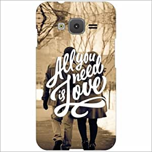 Samsung Z1 Back Cover - All You Need Is Love Desiner Cases