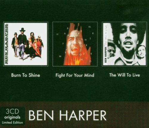 Ben Harper - Burn To Shine/fight For Your Mind/will To Live [slipcase] By Ben Harper (2004-09-30) - Zortam Music