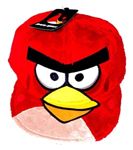 Angry Birds by Rovio Entertainment Angry Birds Red Bird Fuzzy Plush Flat Bill Snapback Baseball Style Character Hat Cap at Sears.com