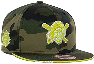 Pittsburgh Pirates MLB Floral Camo New Era 9FIFTY Snapback Cap Hat