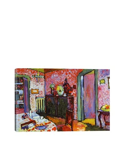 Wassily Kandinsky's Interior (My Dining Room) Giclée Canvas Print