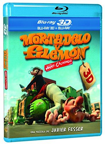 Mortadelo Y Filemón Contra Jimmy El Cachondo (BD 3D) [Blu-ray]