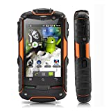 "FortisX V5 - IP67 Rugged Waterproof, Dustproof, Shockproof 3G Android 2.3 Smartphone Dual SIM 3.2""Touchscreen,5MP"