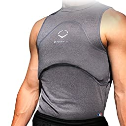 EvoShield Adult Chest and Back Guard, Adult Medium