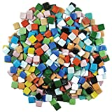 Jennifers Mosaics 3/8-Inch Classico Mosaic Tiles Color Variety, Assorted Colors,  3-Pound