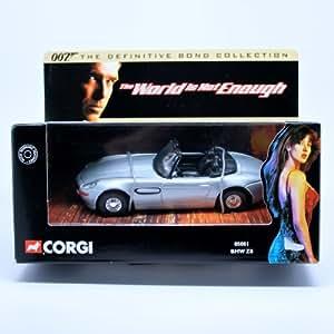 Amazon.com: BMW Z8 * THE WORLD IS NOT ENOUGH * 2001 Corgi Classics 007