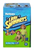 Huggies Little Swimmers Nappies Size 3/4 (7 To 15 Kg) - Pack Of 12 Nappies