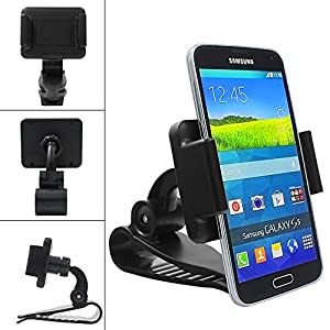 Car Mount, SoSoon Multi-functional mobile phone Holder / Mount / Clip [max screen size 6 inch] for iPhone 6/6 Plus, Samsung Galaxy S6/S6 Edge, PDA and Smart Cellphone[Retail packaging] -013